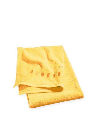 Solid törölköző, sárga