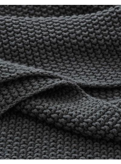 Nordic knit pled, kő
