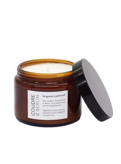 Nagy illatgyertya Essential bergamott/pacsuli