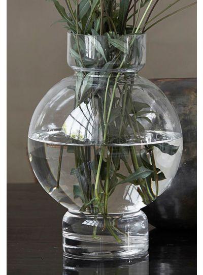 Bubble, váza, átlátszó