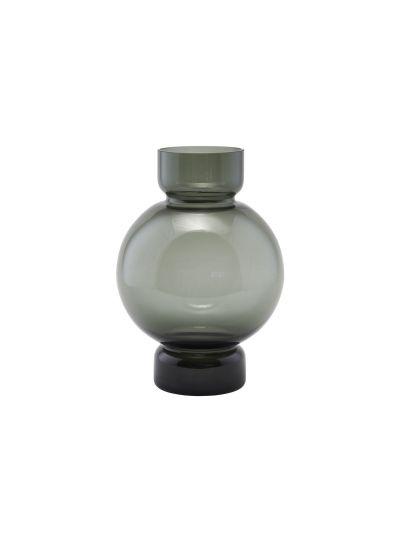 Bubble, váza, füstszürke