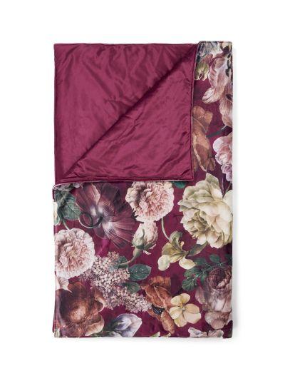 Claire Steppelt takaró, cseresznyepiros