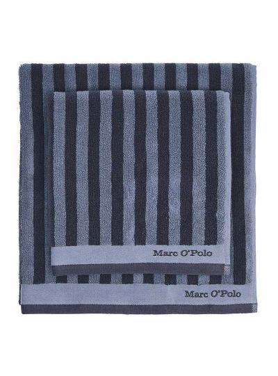 Classic Stripe törölköző, tenger/füstkék