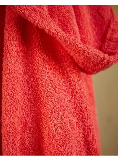 Easy fürdőköpeny, piros