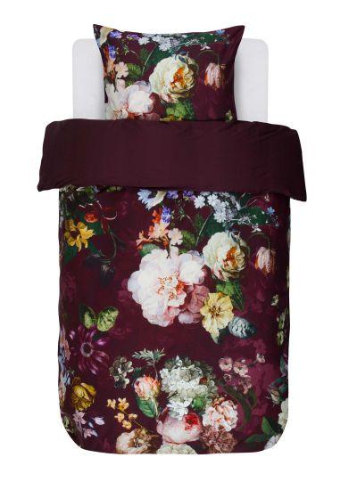 Fleur ágyneműhuzat garnitúra, burgundi