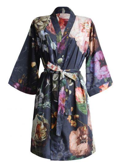 Fleur kimonó, éjkék