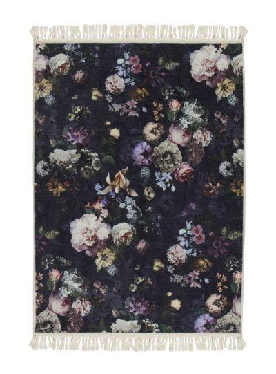 Fleur szőnyeg, éjkék