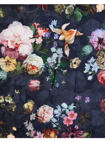 Fleur pléd, éjkék