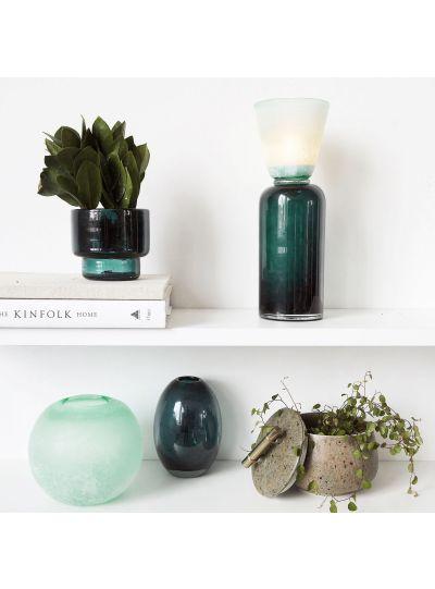 Ball, váza, kék/zöld