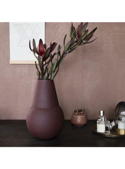 Marain, váza, rozsdaszín