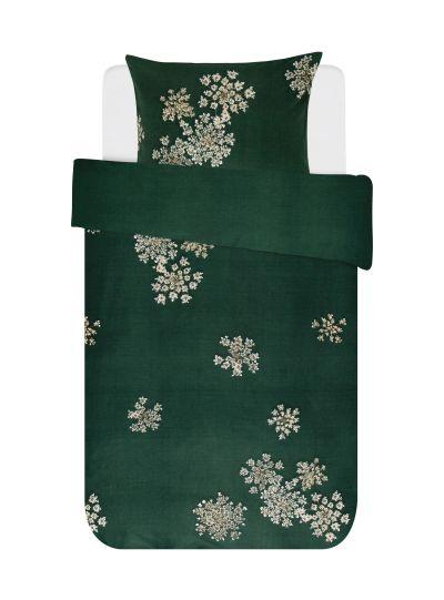Lauren ágyneműhuzat garnitúra, sötét zöld