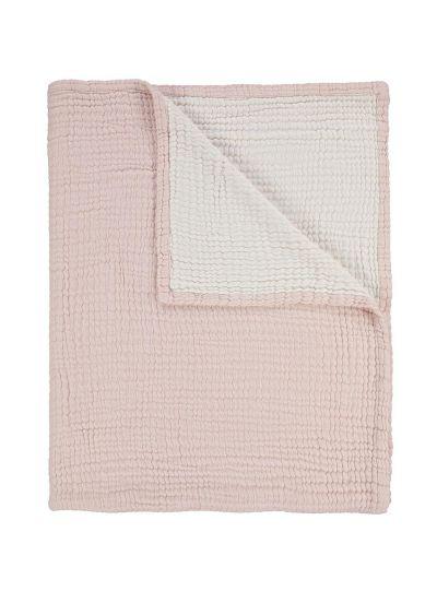 Melsi pléd, rózsaszín
