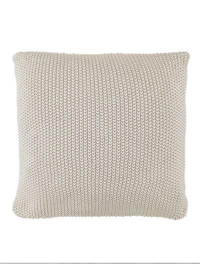 Nordic knit díszpárna, zabkása
