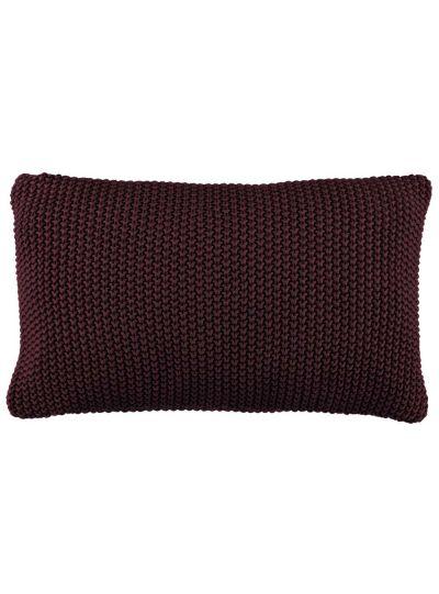 Nordic knit díszpárna, szilva