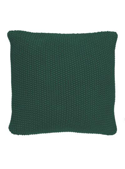 Nordic knit Négyzetalakú díszpárna, Zöld