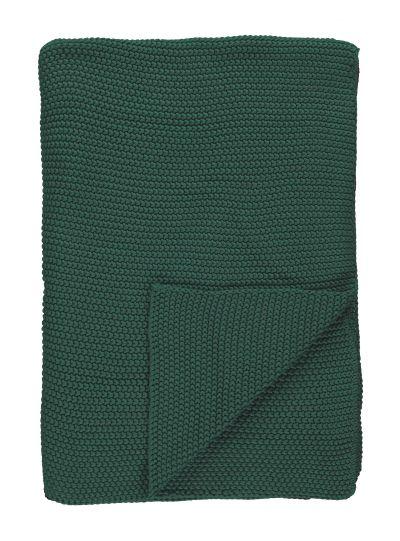 Nordic knit pléd, zöld
