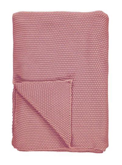 Nordic knit Takaró, Hamvas rózsaszín