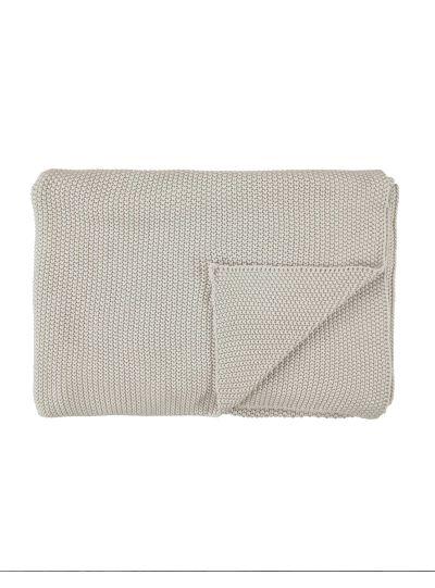 Nordic knit pléd, zabkása