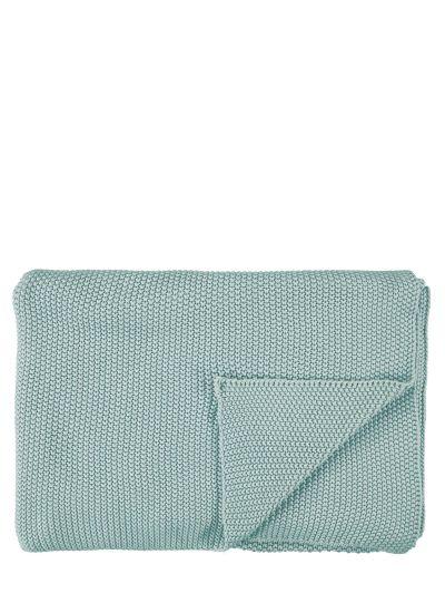 Nordic knit Takaró, lágy zöld