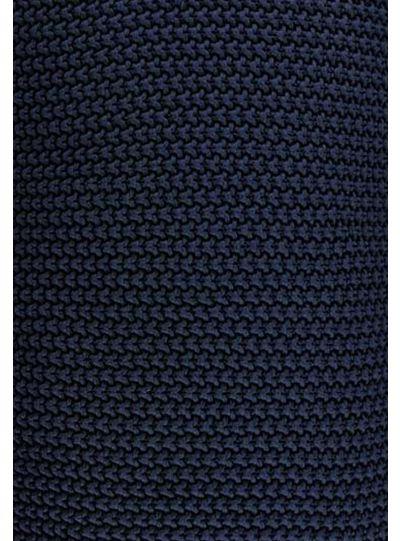 Nordic knit pléd, indigókék