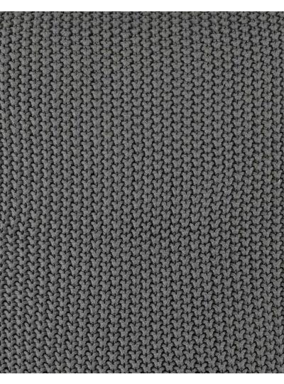 Nordic knit díszpárna, kő