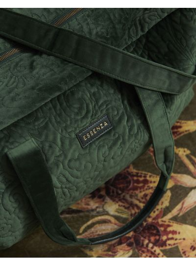 Pebbles Velvet Hétvégi táska, Zöld