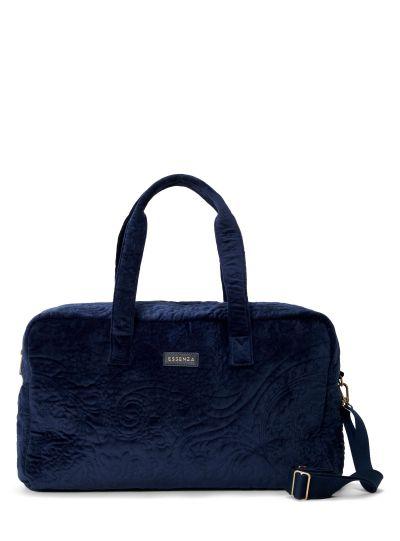 Pebbles Velvet Hétvégi táska, Indigókék