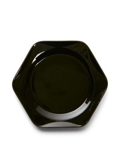 Sculpture Süteményes tányér, sotetzold