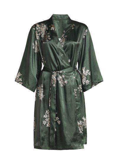 Sarai Lauren kimonó, zöld
